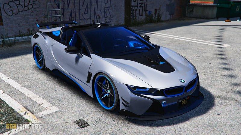 BMW I8 Custom >> Bmw I8 Roadster Ac Schnitzer Add On Oiv Gtaland Net