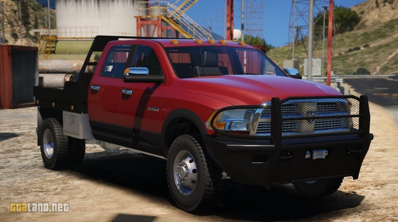 2010 Dodge Ram 3500 Steel Flatbed